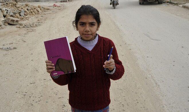 Siria: libri sotto le bombe